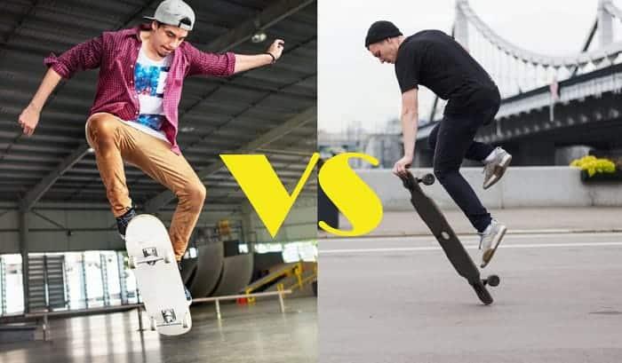 Skateboard vs Longboard
