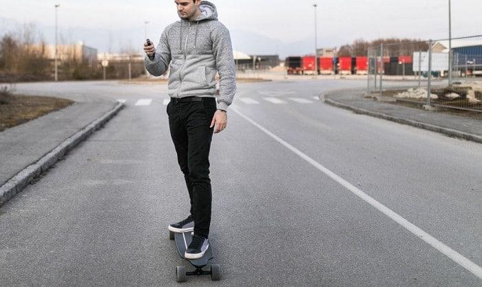 best electric skateboard controller