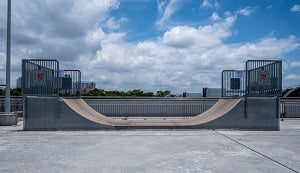 A-skateboard-park