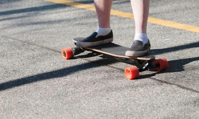 hub-motor-electric-skateboard