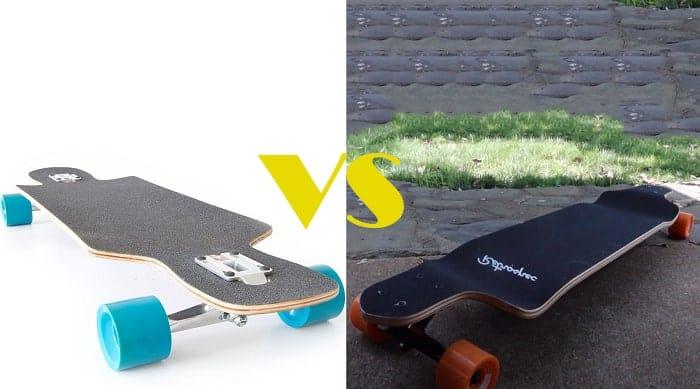 drop through vs drop down