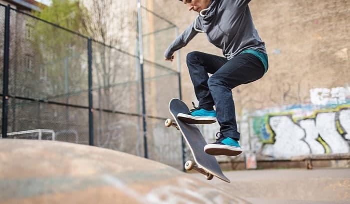 how to jump on a skateboard