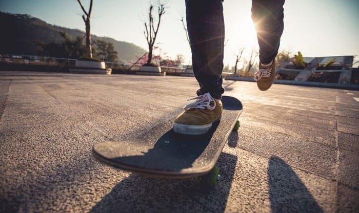 how to power slide on a skateboard