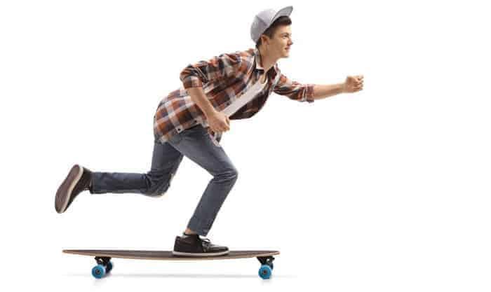 push-longboard