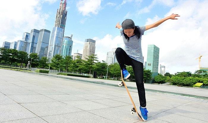 skateboard-steering